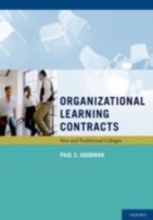 Organizational Learning Contracts: New and Traditional Colleges