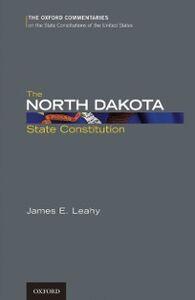 Ebook in inglese North Dakota State Constitution Leahy, James E.