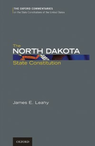 Ebook in inglese North Dakota State Constitution Leahy, James E.