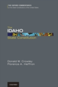 Ebook in inglese Idaho State Constitution Crowley, Donald W. , Heffron, Florence A.