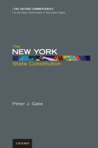 Ebook in inglese New York State Constitution Galie, Peter J.