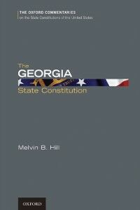 Ebook in inglese Georgia State Constitution Hill, Melvin B.