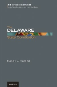 Ebook in inglese Delaware State Constitution Holland, Randy