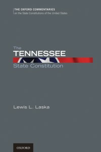 Ebook in inglese Tennessee State Constitution Laska, Lewis L.