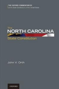 Ebook in inglese North Carolina State Constitution Orth, John V.