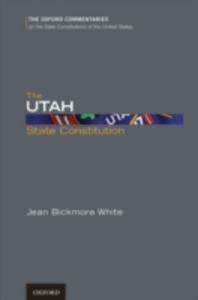 Ebook in inglese Utah State Constitution White, Jean Bickmore
