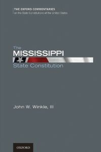 Foto Cover di Mississippi State Constitution, Ebook inglese di John W. Winkle, edito da Oxford University Press, USA