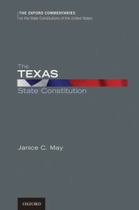 Ebook in inglese Texas State Constitution May, Janice C.