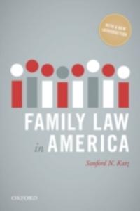 Ebook in inglese Family Law in America Katz, Sanford N.