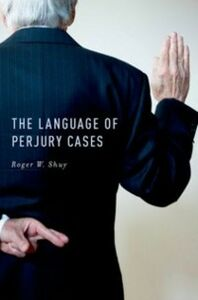 Ebook in inglese Language of Perjury Cases Shuy, Roger W.