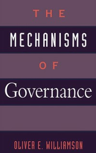Ebook in inglese Mechanisms of Governance Williamson, Oliver E.