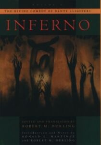 Ebook in inglese Divine Comedy of Dante Alighieri: Volume 1: Inferno Durling, Robert M.