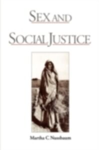 Foto Cover di Sex and Social Justice, Ebook inglese di Martha C. Nussbaum, edito da Oxford University Press