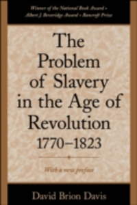 Ebook in inglese Problem of Slavery in the Age of Revolution, 1770-1823 Davis, David Brion