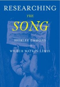 Ebook in inglese Researching the Song: A Lexicon Emmons, Shirlee , Lewis, Wilbur Watkins