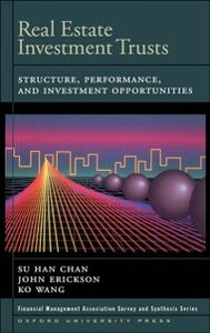 Foto Cover di Real Estate Investment Trusts: Structure, Performance, and Investment Opportunities, Ebook inglese di AA.VV edito da Oxford University Press