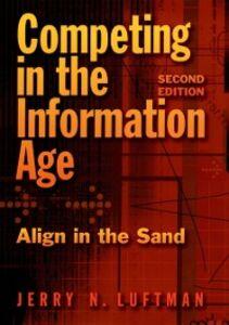 Foto Cover di Competing in the Information Age: Align in the Sand, Ebook inglese di Jerry N. Luftman, edito da Oxford University Press