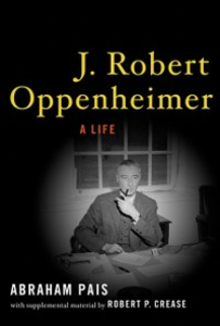 Ebook in inglese J. Robert Oppenheimer: A Life Pais, Abraham