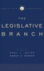 Ebook in inglese Institutions of American Democracy: The Legislative Branch -, -
