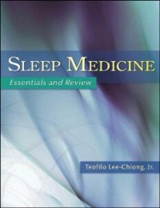 Ebook in inglese Sleep Medicine: Essentials and Review Lee-Chiong, Teofilo