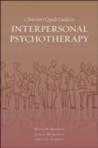 Ebook in inglese Clinician's Quick Guide to Interpersonal Psychotherapy Klerman, Gerald L. , Markowitz, John , Weissman, Myrna