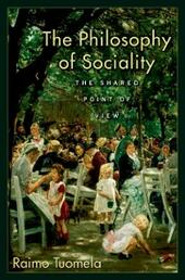 Philosophy of Sociality: The Shared Point of View