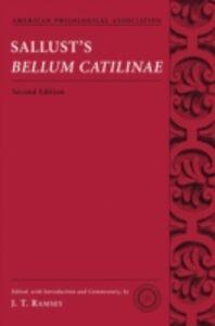 Foto Cover di Sallusts Bellum Catilinae, Ebook inglese di  edito da Oxford University Press