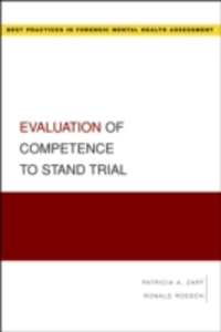 Ebook in inglese Evaluation of Competence to Stand Trial Roesch, Ronald , Zapf, Patricia