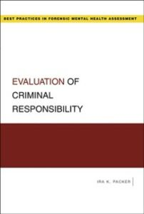 Ebook in inglese Evaluation of Criminal Responsibility Packer, Ira K.