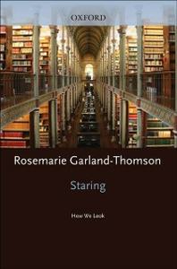 Ebook in inglese Staring: How We Look Garland-Thomson, Rosemarie