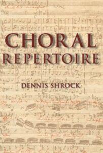 Foto Cover di Choral Repertoire, Ebook inglese di Dennis Shrock, edito da Oxford University Press