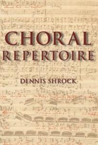 Ebook in inglese Choral Repertoire Shrock, Dennis