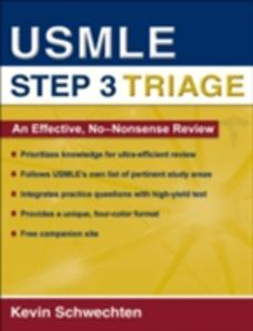 Ebook in inglese USMLE Step 3 Triage: An Effective, No-nonsense Review Schwechten, Kevin