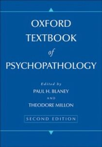 Ebook in inglese Oxford Textbook of Psychopathology Blaney, Paul H , Millon, Theodore