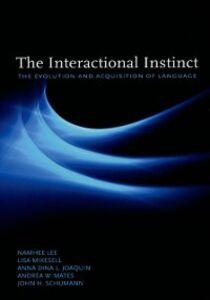 Foto Cover di Interactional Instinct: The Evolution and Acquisition of Language, Ebook inglese di AA.VV edito da Oxford University Press