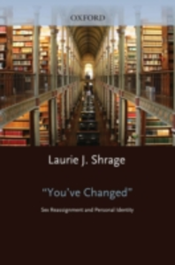 Ebook in inglese You've Changed: Sex Reassignment and Personal Identity -, -