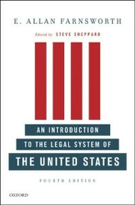 Ebook in inglese Introduction to the Legal System of the United States, Fourth Edition Farnsworth, E. Allan