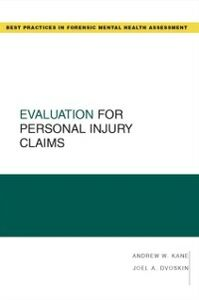 Ebook in inglese Evaluation for Personal Injury Claims Dvoskin, Joel A. , Kane, Andrew W.