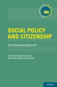 Ebook in inglese Social Policy and Citizenship: The Changing Landscape