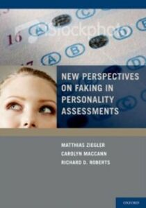 Ebook in inglese New Perspectives on Faking in Personality Assessment -, -