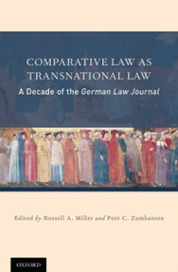 Ebook in inglese Comparative Law as Transnational Law: A Decade of the German Law Journal -, -