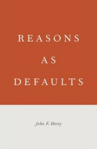 Ebook in inglese Reasons as Defaults Horty, John  F.