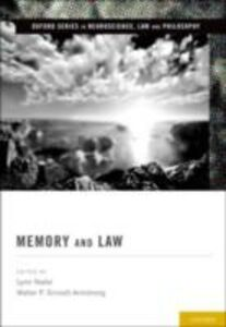 Ebook in inglese Memory and Law -, -