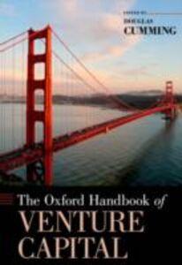 Foto Cover di Oxford Handbook of Venture Capital, Ebook inglese di  edito da Oxford University Press