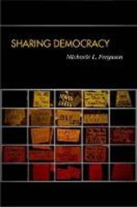 Sharing Democracy - Michaele L. Ferguson - cover