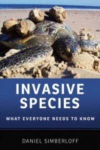 Ebook in inglese Invasive Species: What Everyone Needs to KnowRG Simberloff, Daniel