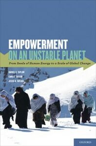 Foto Cover di Empowerment on an Unstable Planet: From Seeds of Human Energy to a Scale of Global Change, Ebook inglese di AA.VV edito da Oxford University Press