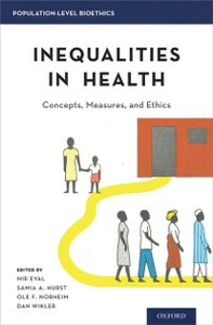 Ebook in inglese Inequalities in Health: Concepts, Measures, and Ethics -, -