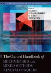 Oxford Handbook of Multimethod and Mixed Methods Research Inquiry
