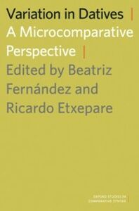 Ebook in inglese Variation in Datives: A Microcomparative Perspective -, -